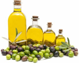 olive oil as an example of a mono-unsaturated fat
